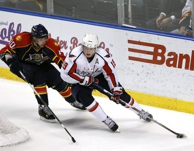 Two of our favs - Nicky 19 and the Panthers David Booth