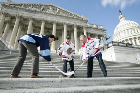 Congressional Hockey Caucus puck drop