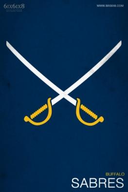 Sabres Minimalist logo