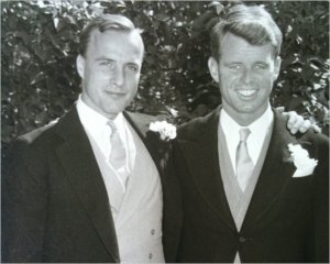Hackett RFK 1956 wedding