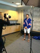 Rick Nash Rangers media day