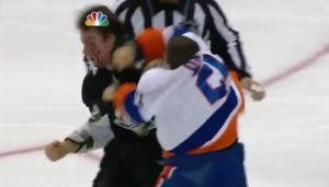 Okposo busts the Pens' grill