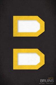 Bruins minimalist logo