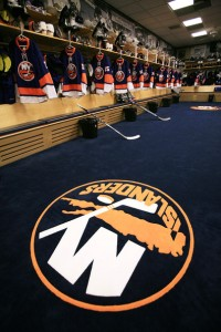 Isles dressing room
