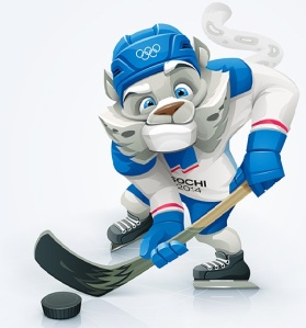 Sochi hockey mascot