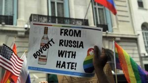 Vodka protest
