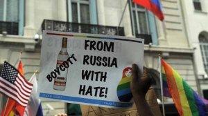 Vodka protest