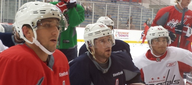Ovi, Greenie and Casey Wellman