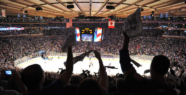 Rangers at MSG