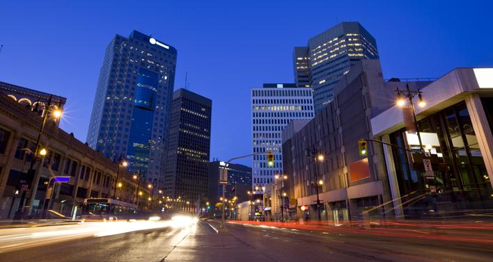 cities winnipeg