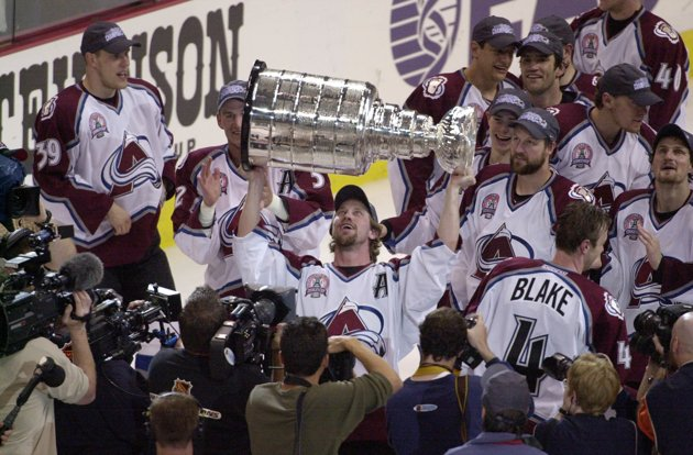 Avs cup celly