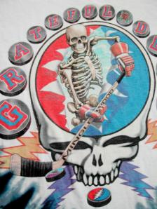 Dead Skull Roses Hockey