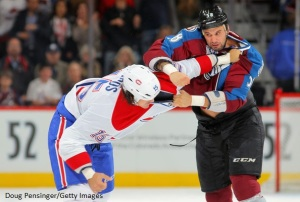 Patrick+Bordeleau+Montreal+Canadiens+v+Colorado Doug Pensinger Getty Images