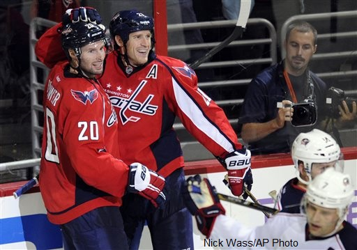 Troy Brouwer, Brooks Laich
