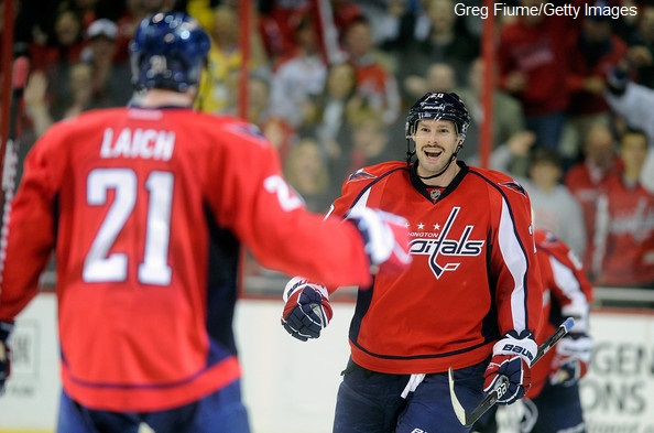 Troy+Brouwer+Phoenix Laich Greg Fiume Getty Images