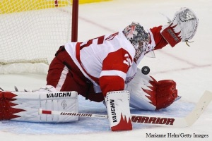 Jimmy Howard Marianne Helm Getty Images