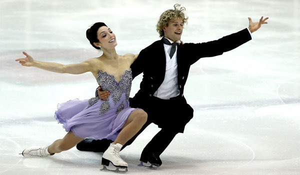 The Ladies Room Meryl Davis And Charlie White The Next: Same Butts, Tighter Pants