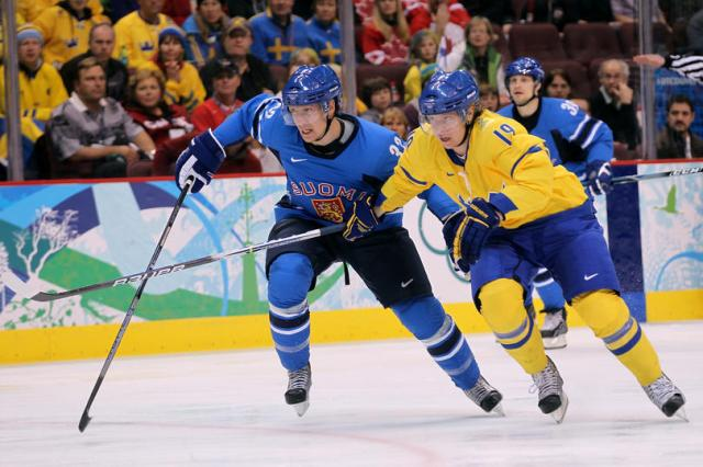 Ice Hockey - Day 10 - Sweden v Finland