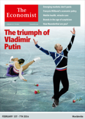 Putin on ice Economist