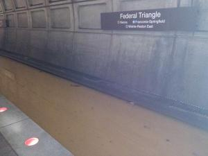 Metro flood