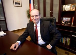 Czech Ambassador Petr Gandalovič