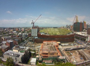BC Roof - Atlantic Yards Webcam
