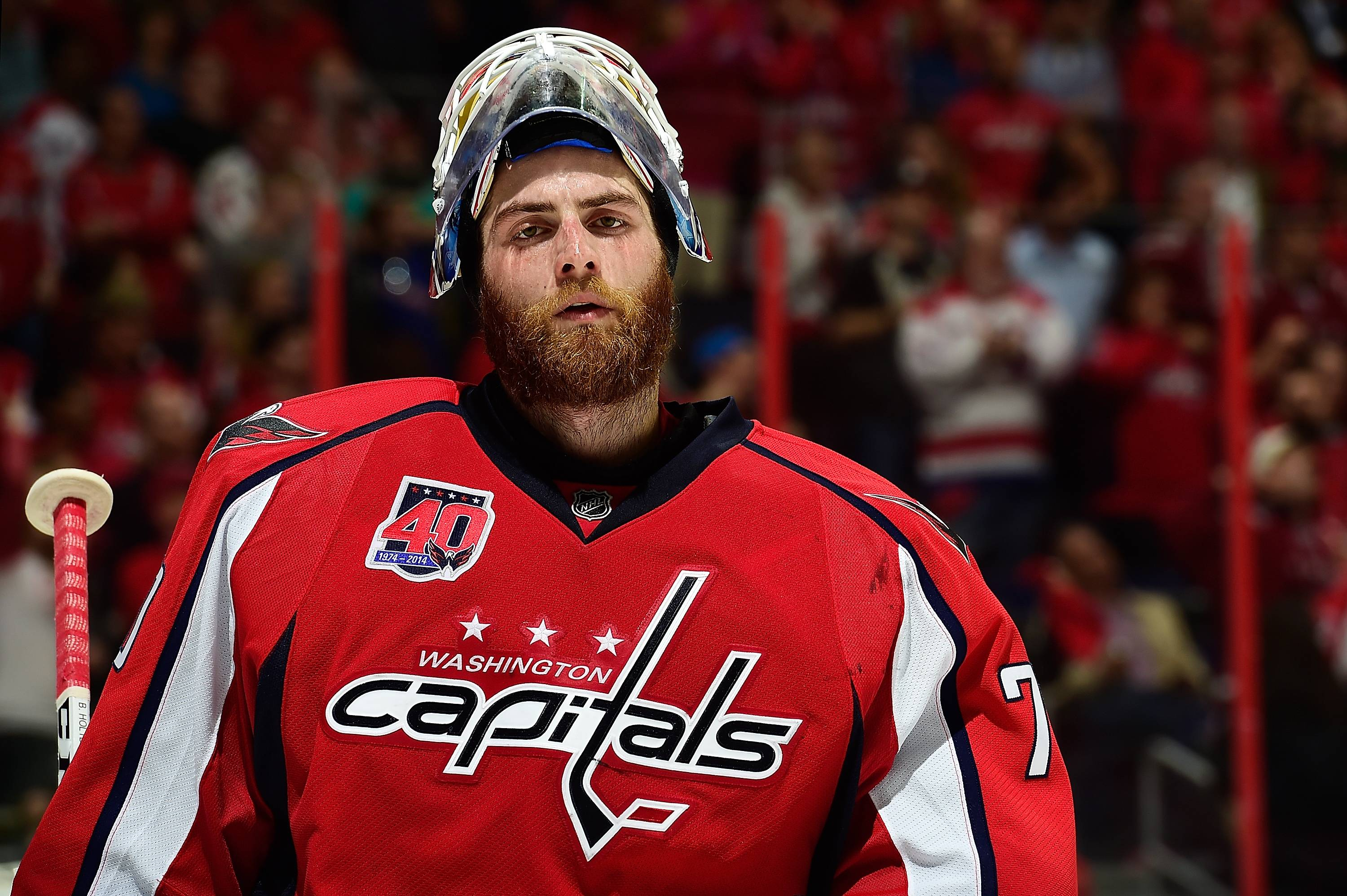 we can re sign him braden holtby the six million dollar man puckbuddys