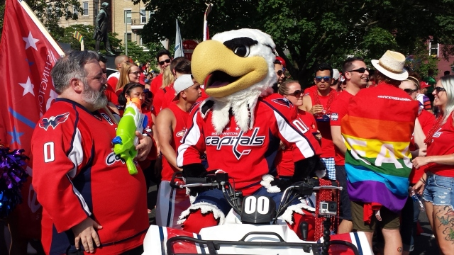 Slapshot deserves a medal for sticking it out with such good cheer